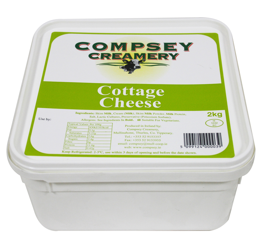 Cottage Cheese Compsey Creamery Cottage Cheese Producer